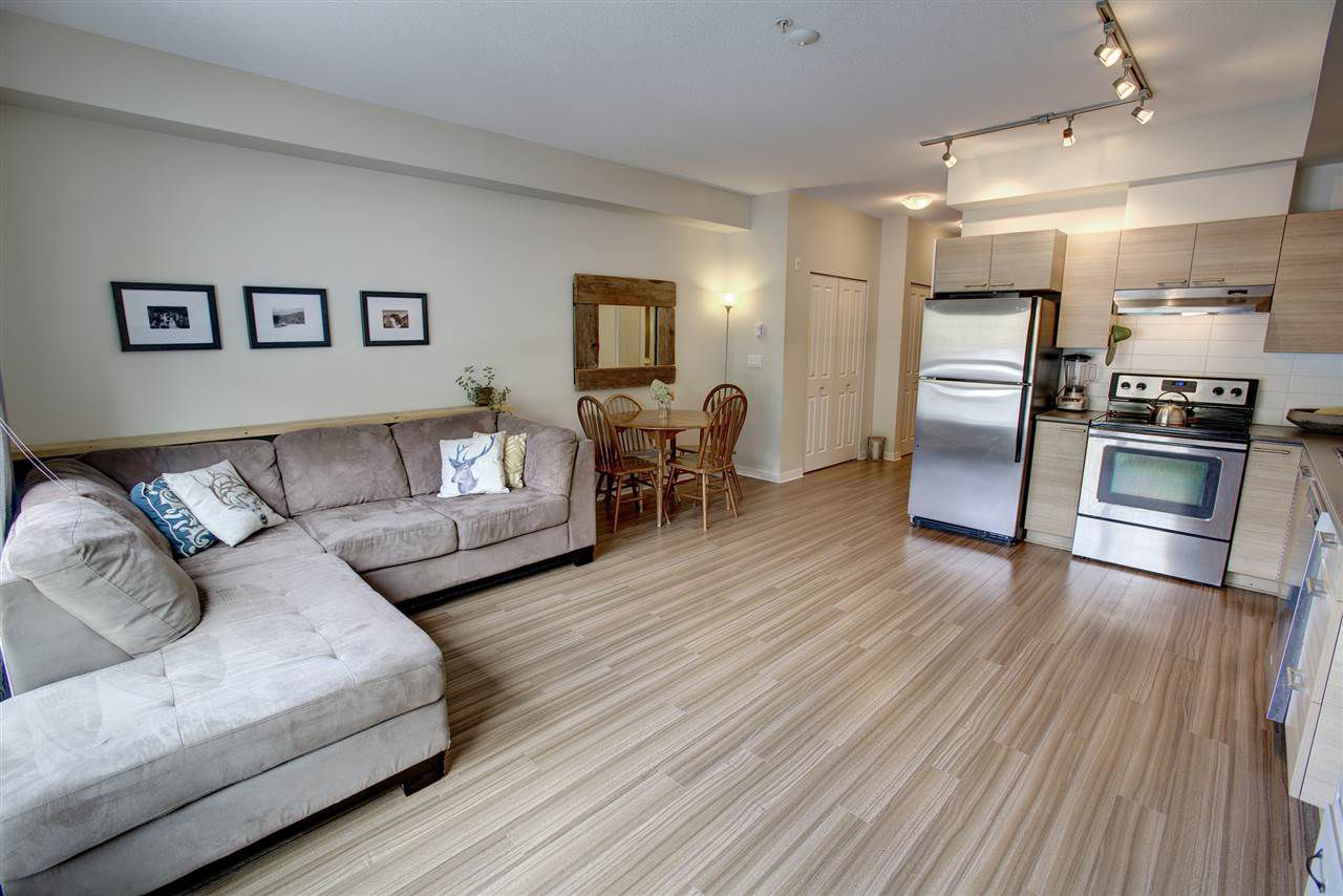 "Main Photo: 204 7445 FRONTIER Street: Pemberton Condo for sale in ""Elements"" : MLS®# R2107404"