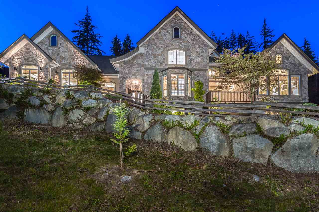 Main Photo: 1472 CRYSTAL CREEK Drive: Anmore House for sale (Port Moody)  : MLS®# R2231426