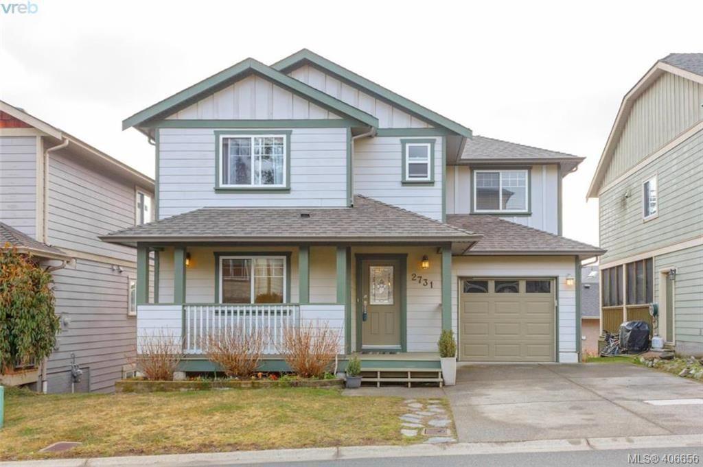 Main Photo: 2731 Cornerstone Terrace in VICTORIA: La Mill Hill Single Family Detached for sale (Langford)  : MLS®# 406656