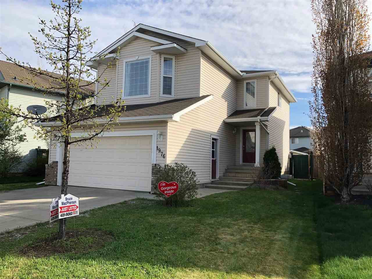 Main Photo: 1976 GARNETT Way in Edmonton: Zone 58 House for sale : MLS®# E4157502