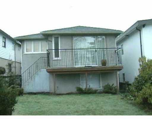 Main Photo: 3208 E 26TH AV in Vancouver: Renfrew Heights House for sale (Vancouver East)  : MLS®# V326062