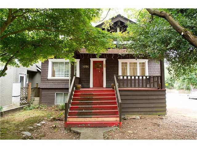 """Main Photo: 3696 W 2ND Avenue in Vancouver: Kitsilano House for sale in """"Kitsilano"""" (Vancouver West)  : MLS®# V1090176"""