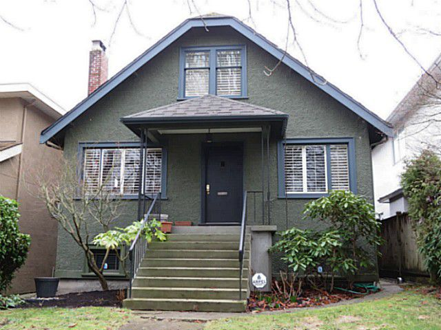 Main Photo: 3854 W 15TH Avenue in Vancouver: Point Grey House for sale (Vancouver West)  : MLS®# V1103885