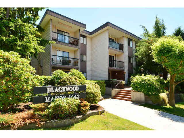 "Main Photo: 308 1442 BLACKWOOD Street: White Rock Condo for sale in ""Blackwood Manor"" (South Surrey White Rock)  : MLS®# F1443547"
