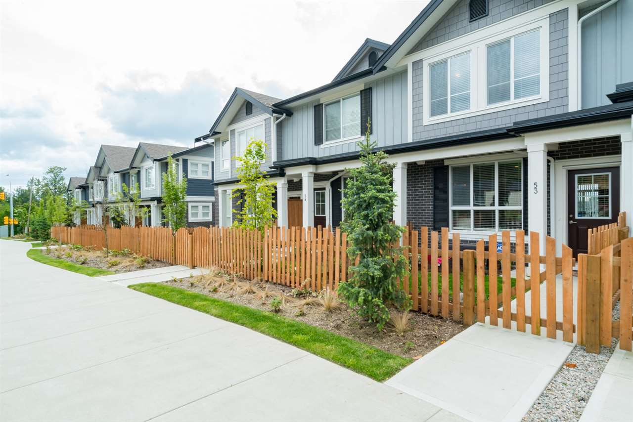 "Main Photo: 53 7157 210 Street in Langley: Willoughby Heights Townhouse for sale in ""ALDER AT MILNER HEIGHTS"" : MLS®# R2170443"