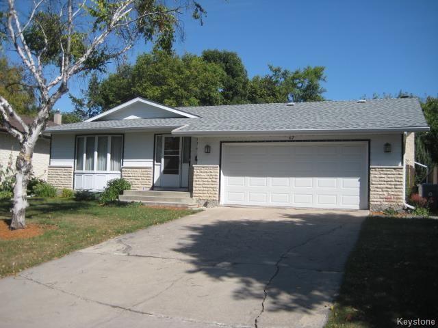 Main Photo: 67 Mornefortune Crescent in Winnipeg: North Kildonan Residential for sale (3G)  : MLS®# 1724230