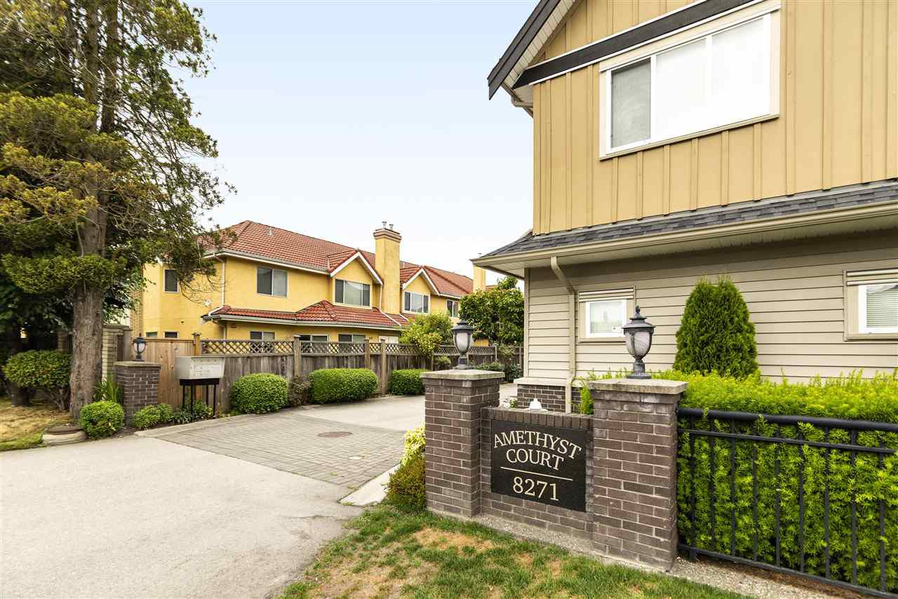 """Rarely Available - 8271 Francis Road - """"AMETHYST COURT"""" - inner corner end unit, not facing Francis Road and very quiet"""