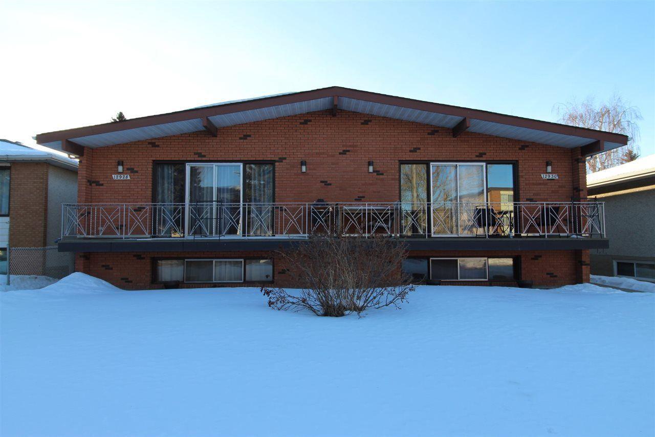 Main Photo: 12928  /12930 101 Street in Edmonton: Zone 01 House Duplex for sale : MLS®# E4129545
