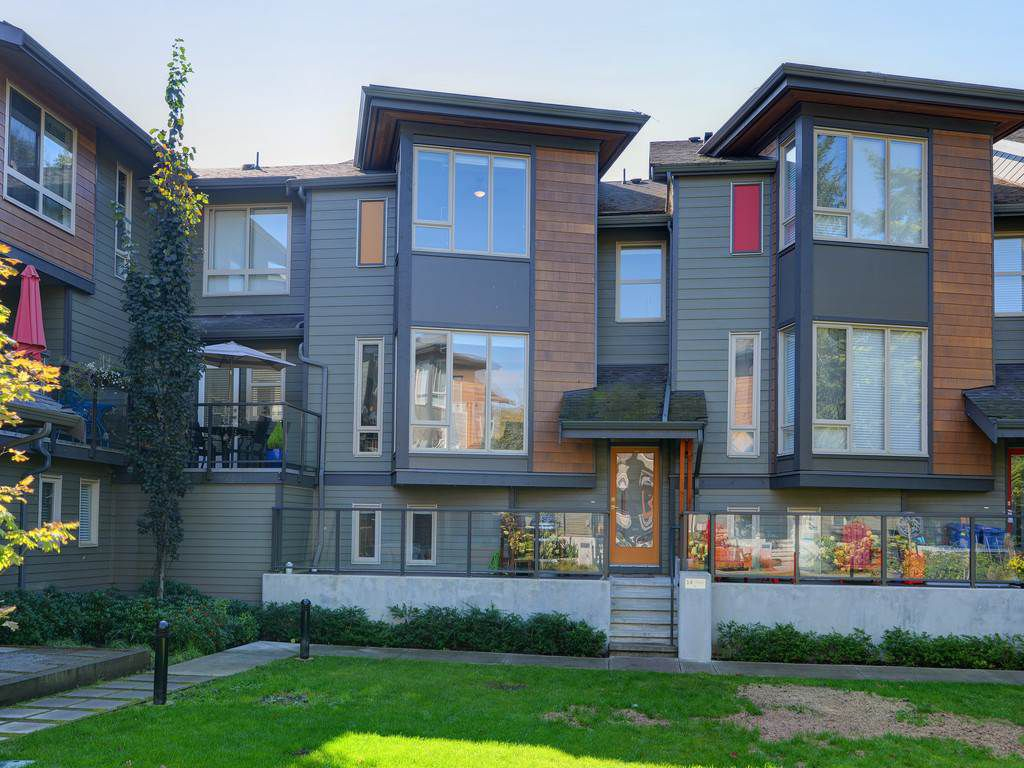 "Main Photo: 14 757 ORWELL Street in North Vancouver: Lynnmour Townhouse for sale in ""Connect at Nature's Edge"" : MLS®# R2308821"