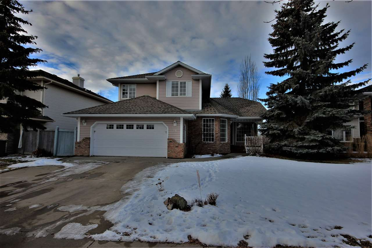 Main Photo: 15 HERITAGE Drive: St. Albert House for sale : MLS®# E4137331