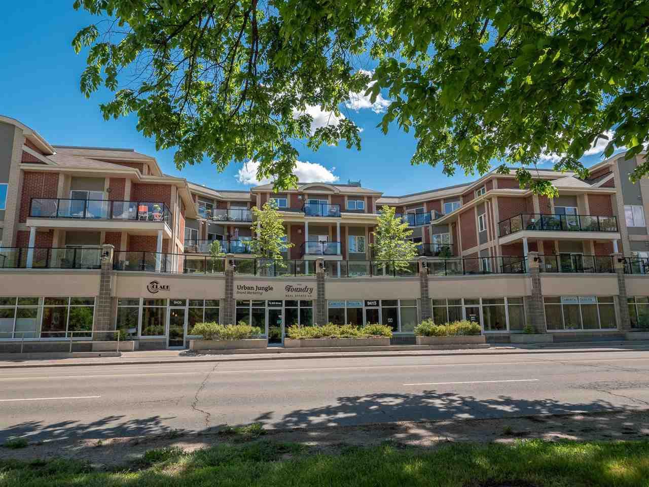 Main Photo: 210 9750 94 Street in Edmonton: Zone 18 Condo for sale : MLS®# E4151117
