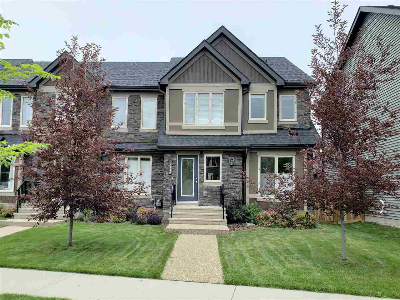 Main Photo: 3066 KESWICK Way in Edmonton: Zone 56 Attached Home for sale : MLS®# E4165302