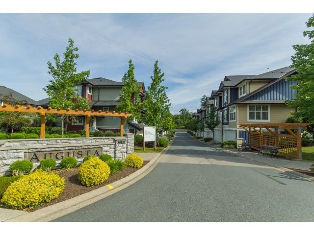 "Main Photo: 47 18199 70 Avenue in Surrey: Cloverdale BC Townhouse for sale in ""Augusta"" (Cloverdale)  : MLS®# R2074577"