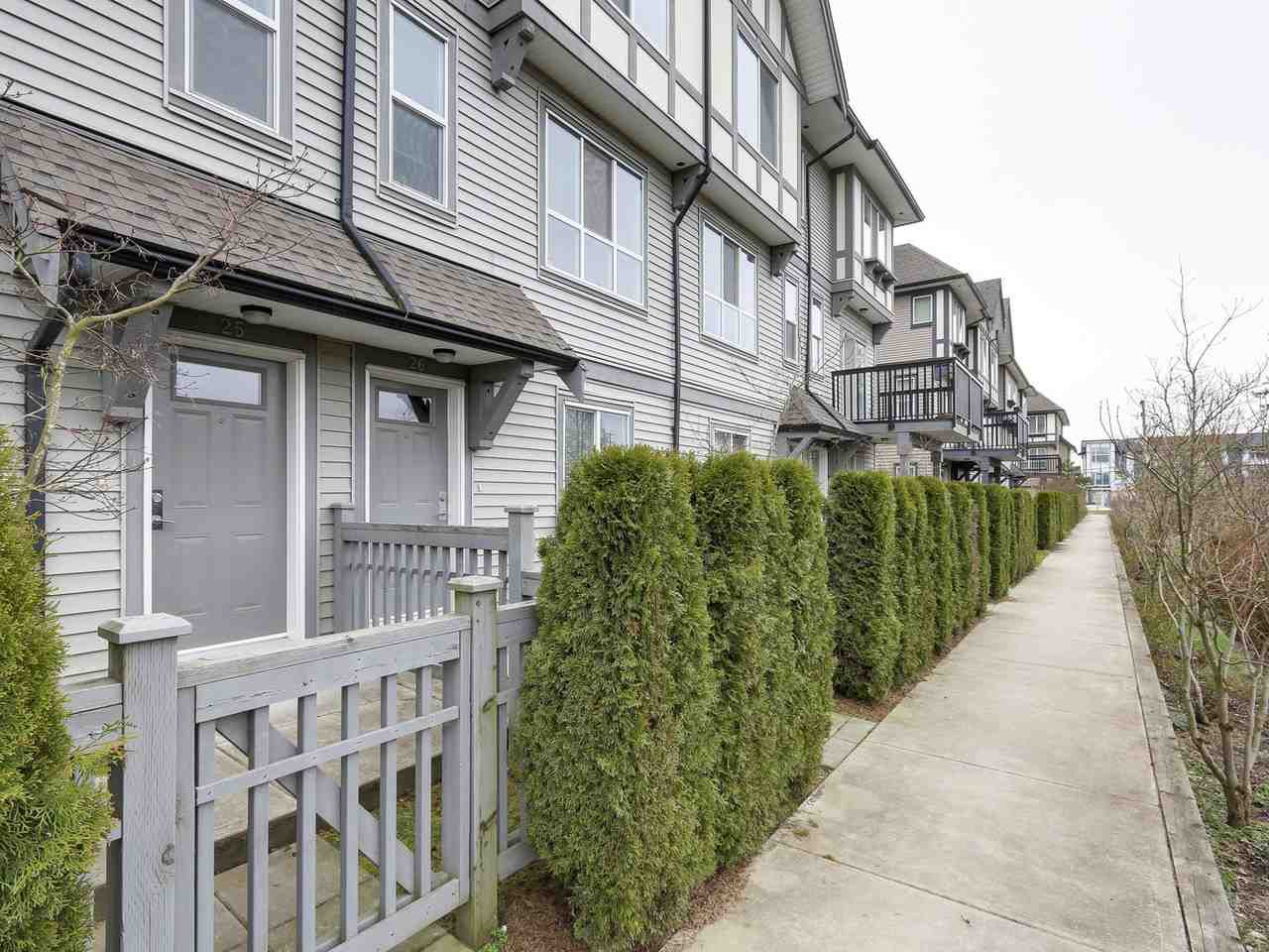 """Main Photo: 25 9566 TOMICKI Avenue in Richmond: West Cambie Townhouse for sale in """"WISHING TREE"""" : MLS®# R2153565"""