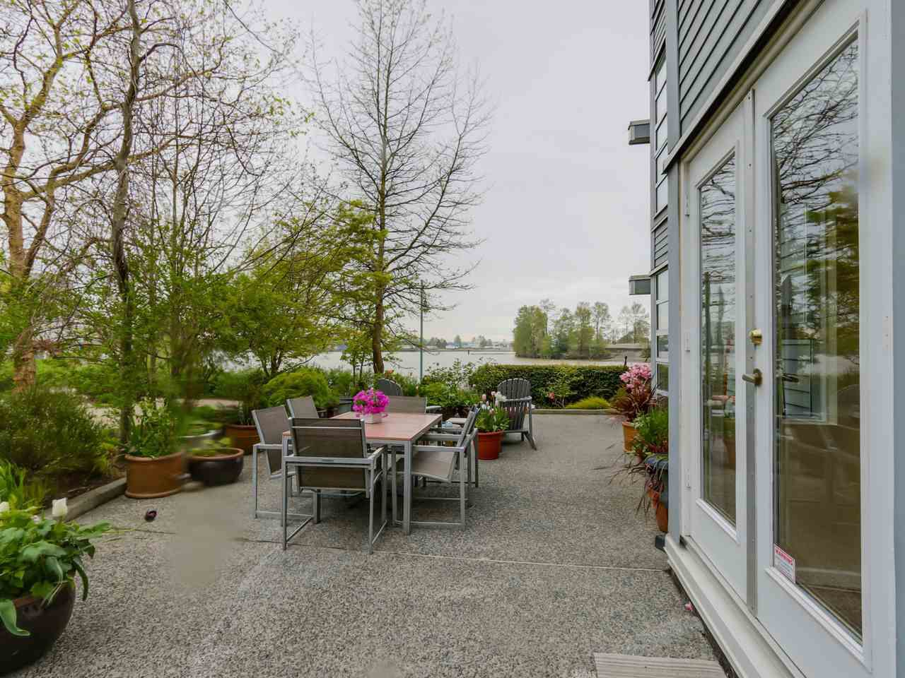 "Main Photo: 108 1880 E KENT AVENUE SOUTH in Vancouver: Fraserview VE Condo for sale in ""PILOT HOUSE AT TUGBOAT LANDING"" (Vancouver East)  : MLS®# R2057021"