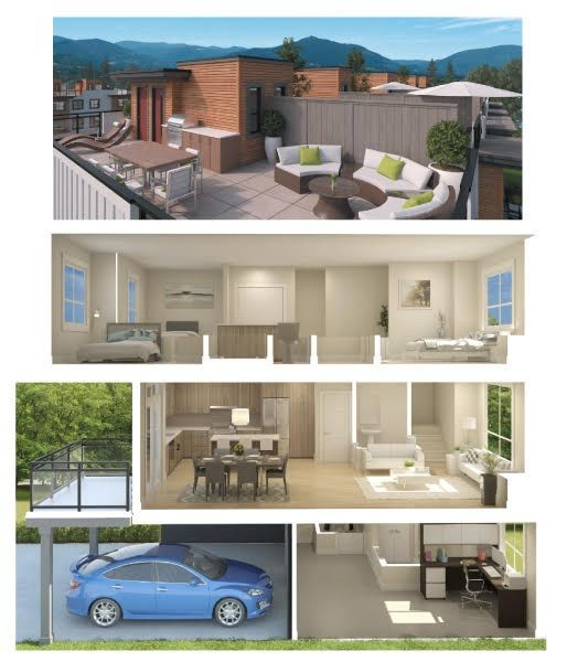 """Main Photo: 27 39771 GOVERNMENT Road in Squamish: Northyards Townhouse for sale in """"BREEZE"""" : MLS®# R2214025"""