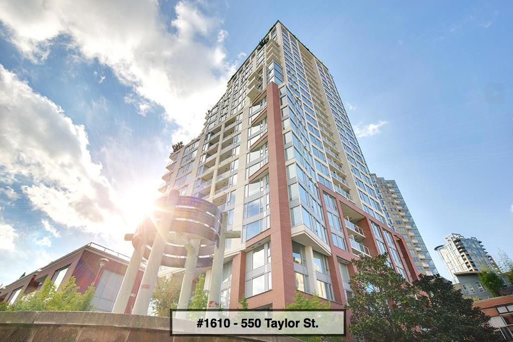 "Main Photo: 1610 550 TAYLOR Street in Vancouver: Downtown VW Condo for sale in ""The Taylor"" (Vancouver West)  : MLS®# R2251836"