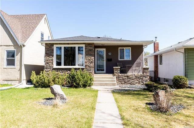 Main Photo: 541 Jefferson Avenue in Winnipeg: West Kildonan Residential for sale (4D)  : MLS®# 1813267