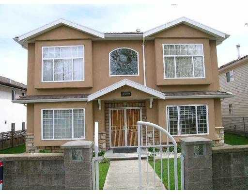 Main Photo: 4820 INVERNESS ST in Vancouver: Knight House for sale (Vancouver East)  : MLS®# V587627
