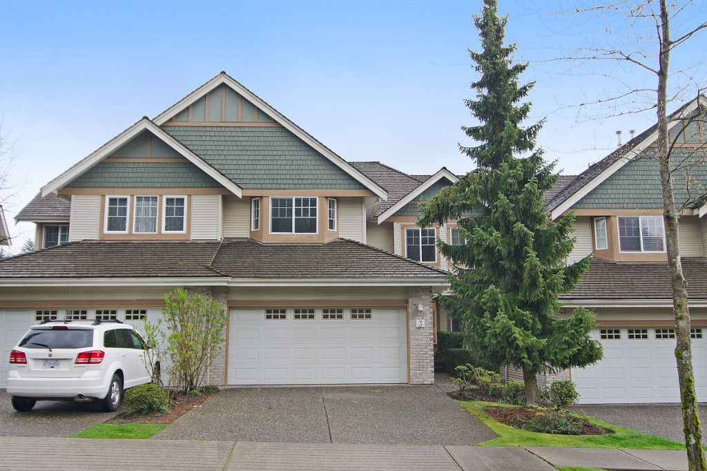 """Main Photo: 3 1765 PADDOCK Drive in Coquitlam: Westwood Plateau Townhouse for sale in """"Worthing Green"""" : MLS®# R2056024"""