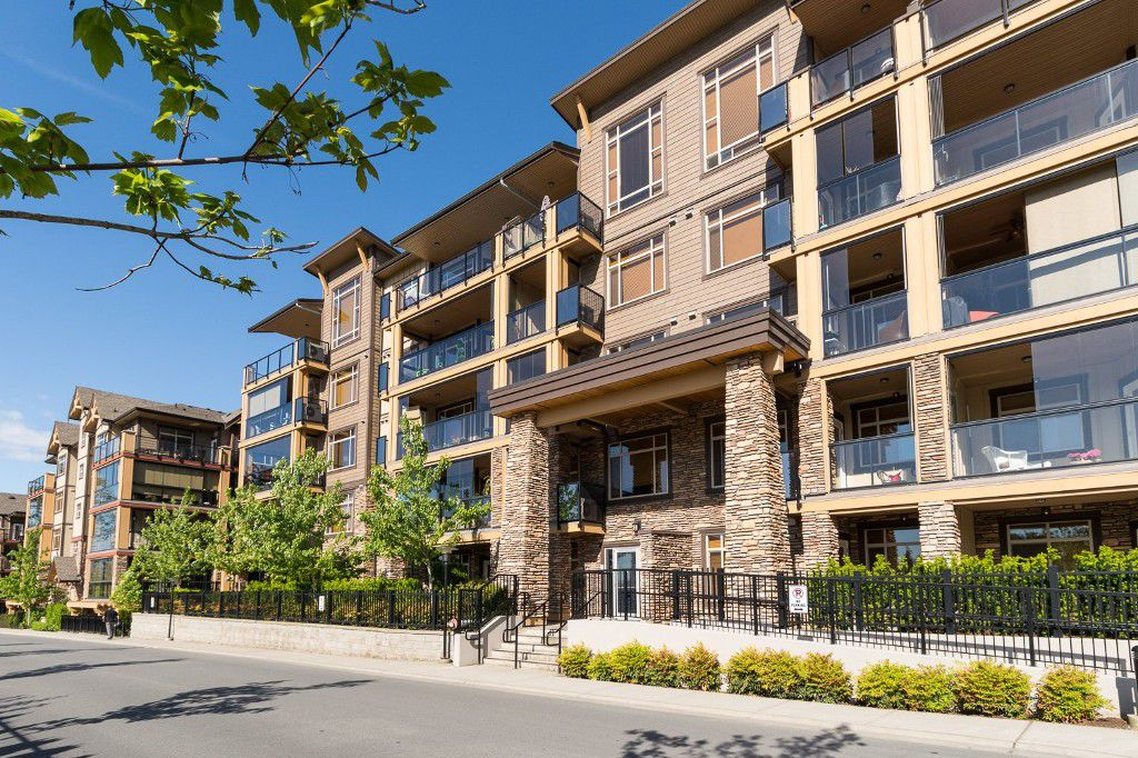 "Main Photo: 203 8258 207A Street in Langley: Willoughby Heights Condo for sale in ""YORKSON CREEK"" : MLS®# R2065419"