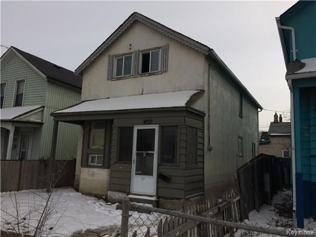 Main Photo: 452 Logan Avenue in Winnipeg: Central Residential for sale (9A)  : MLS®# 1606356