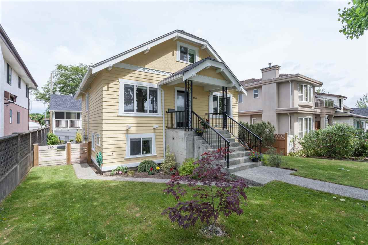 Main Photo: 855 E 24TH Avenue in Vancouver: Fraser VE House for sale (Vancouver East)  : MLS®# R2071078