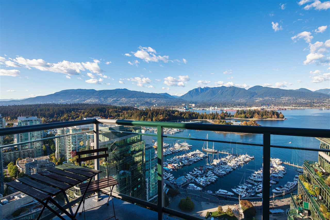 "Main Photo: 3605 1328 W PENDER Street in Vancouver: Coal Harbour Condo for sale in ""CLASSICO"" (Vancouver West)  : MLS®# R2109220"