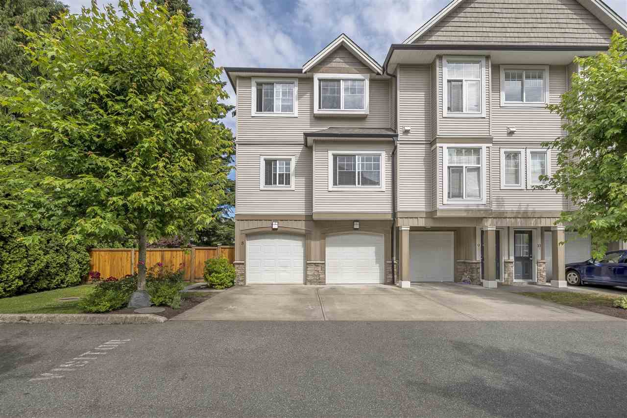 Main Photo: 8 9140 HAZEL Street in Chilliwack: Chilliwack E Young-Yale Townhouse for sale : MLS®# R2187053