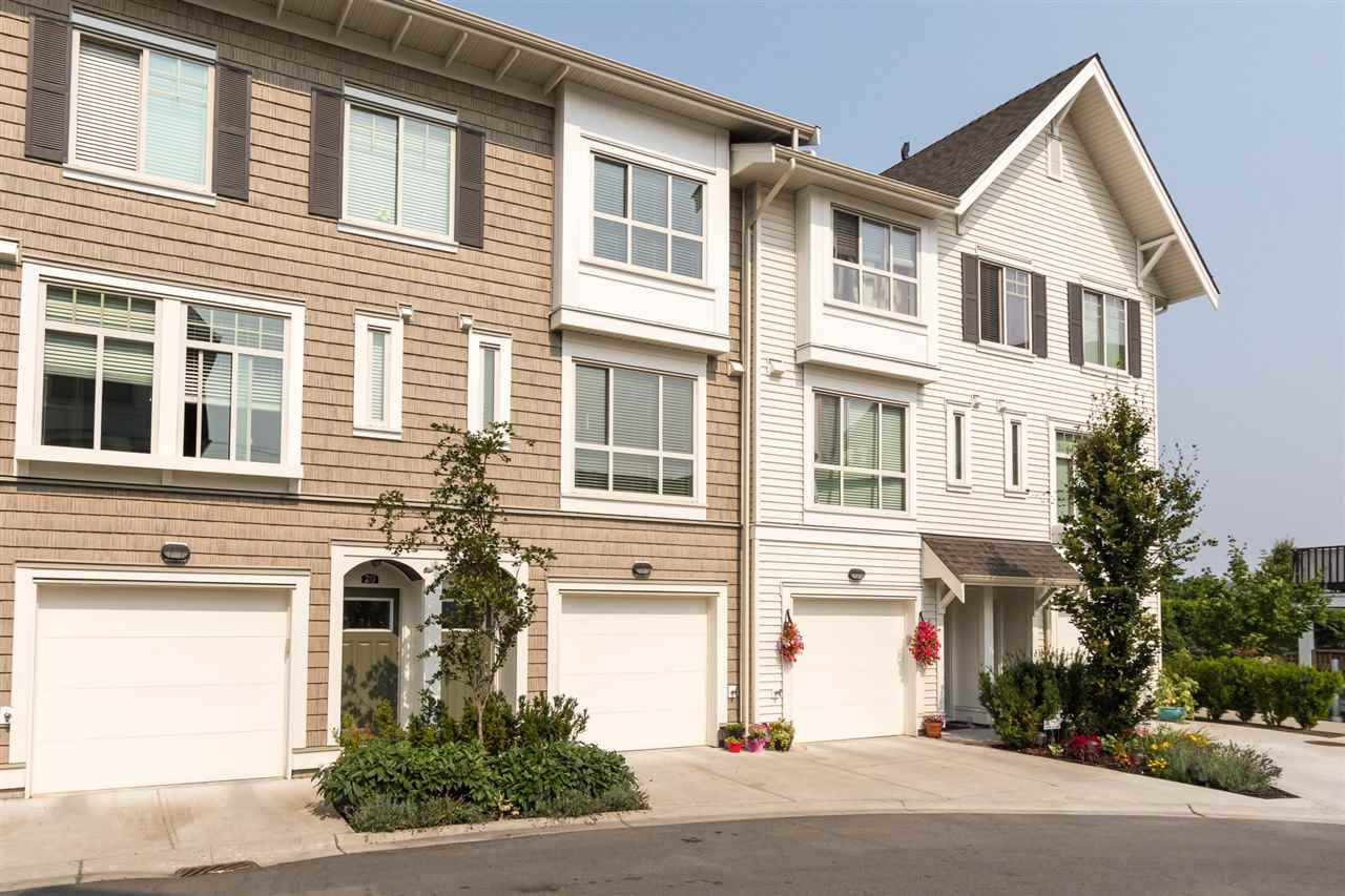 """Main Photo: 21 1708 KING GEORGE Boulevard in Surrey: King George Corridor Townhouse for sale in """"The George"""" (South Surrey White Rock)  : MLS®# R2196864"""