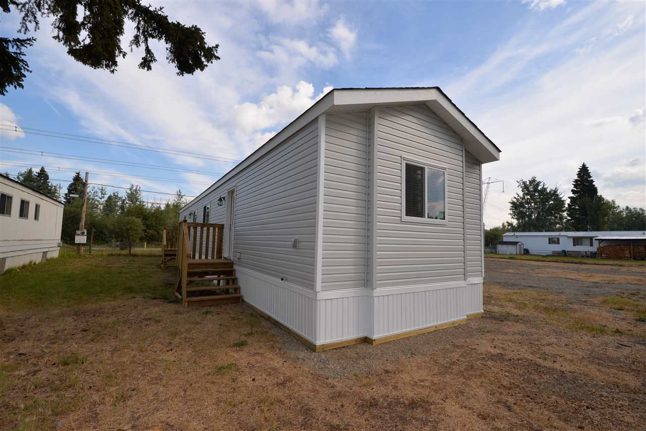 "Main Photo: 15 8474 BUNCE Road in Prince George: Haldi Manufactured Home for sale in ""TRAILER VILLAGE"" (PG City South (Zone 74))  : MLS®# R2301051"