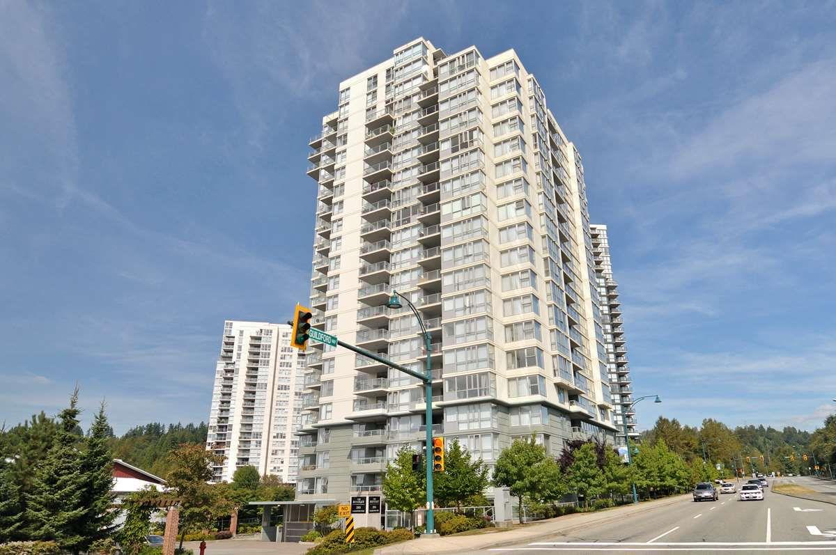 """Main Photo: 1304 295 GUILDFORD Way in Port Moody: North Shore Pt Moody Condo for sale in """"BENTLEY"""" : MLS®# R2305378"""