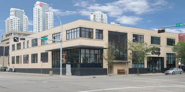 Main Photo: 201 10265 107 Street in Edmonton: Zone 12 Office for sale : MLS®# E4135348