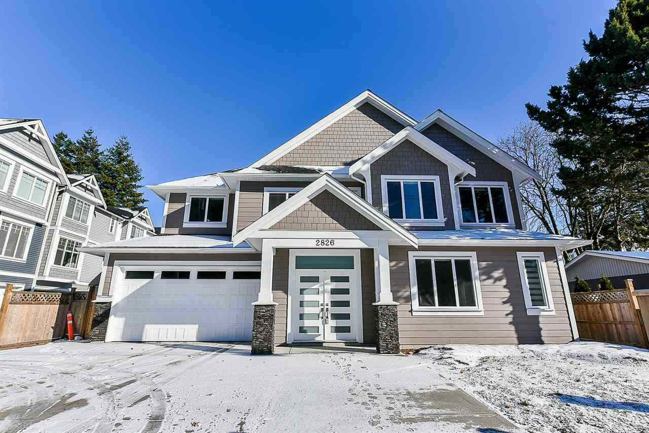 Main Photo: 2826 CLEARBROOK Road in Abbotsford: Abbotsford West House for sale : MLS®# R2362672