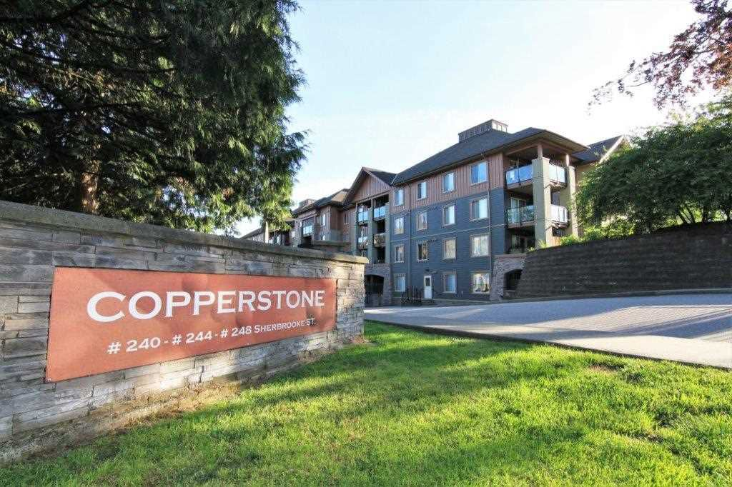 """Main Photo: 3412 240 SHERBROOKE Street in New Westminster: Sapperton Condo for sale in """"COPPERSTONE"""" : MLS®# R2379236"""