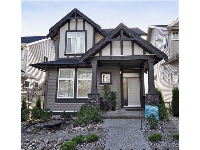 Main Photo: 3446 Roxton Avenue in Coquitlam: Burke Mountain House for sale : MLS®# V980856