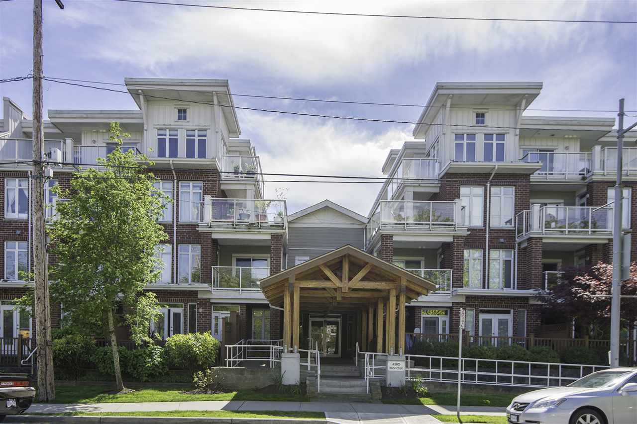 "Main Photo: 304 4280 MONCTON Street in Richmond: Steveston South Condo for sale in ""THE VILLAGE"" : MLS®# R2128674"