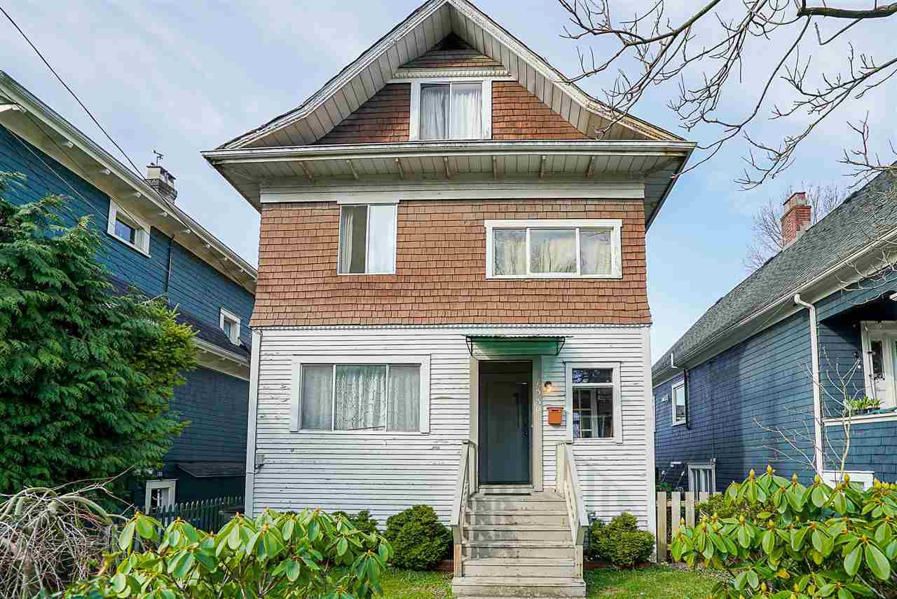 Main Photo: 1339 SALSBURY Drive in Vancouver: Grandview VE House for sale (Vancouver East)  : MLS®# R2246733