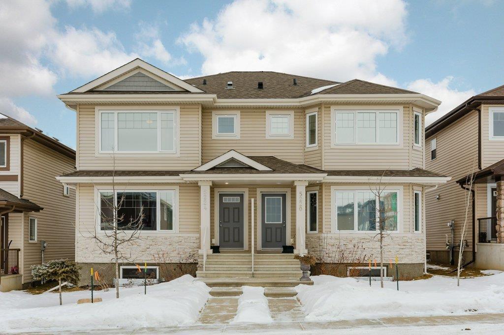 Main Photo: 5224 21 Avenue in Edmonton: Zone 53 House Half Duplex for sale : MLS®# E4142543