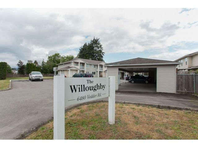 """Main Photo: 6 6480 VEDDER Road in Sardis: Sardis East Vedder Rd Townhouse for sale in """"The Willougby"""" : MLS®# R2339863"""