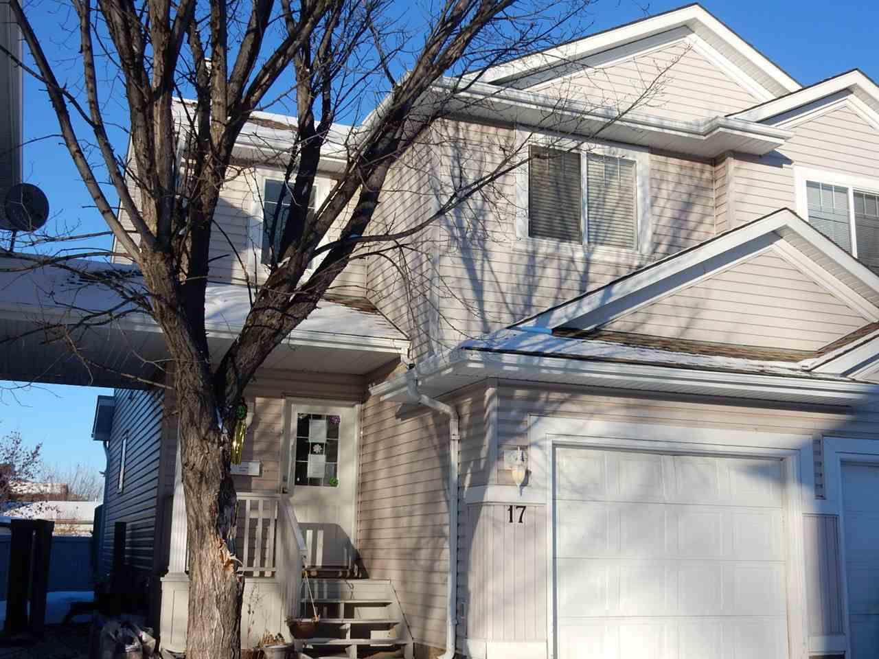 Main Photo: 17 4020 21 Street in Edmonton: Zone 30 Townhouse for sale : MLS®# E4146749