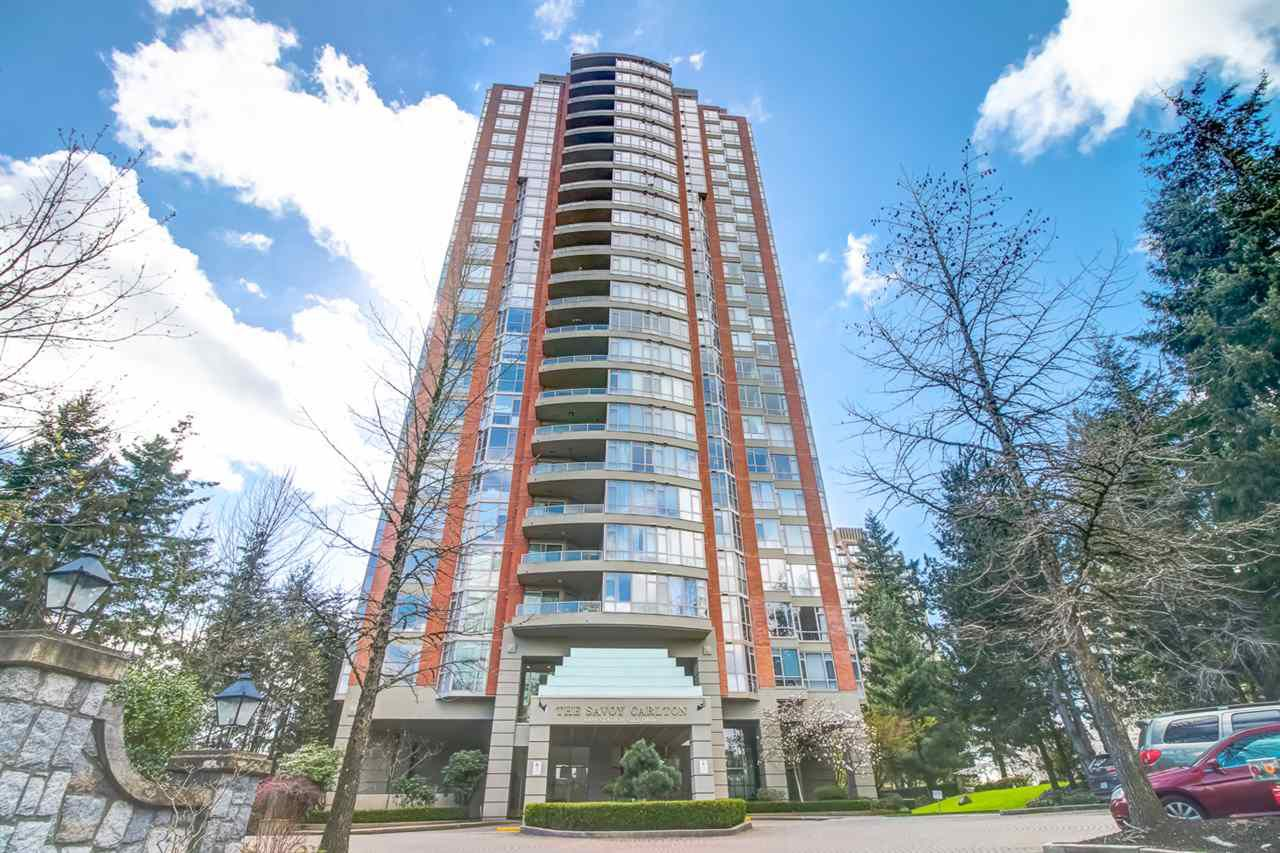"""Main Photo: 801 6888 STATION HILL Drive in Burnaby: South Slope Condo for sale in """"Savoy Carlton"""" (Burnaby South)  : MLS®# R2357609"""