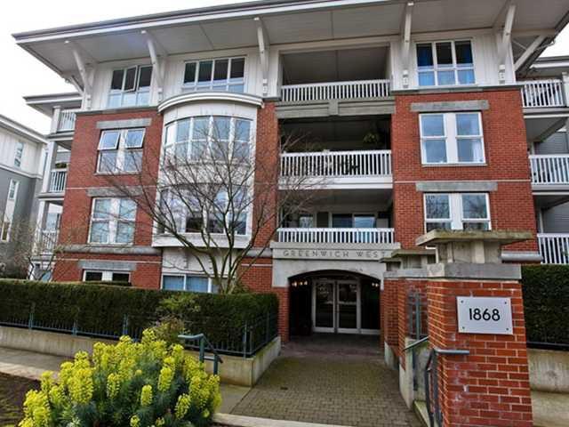 "Main Photo: 207 1868 W 5TH Avenue in Vancouver: Kitsilano Condo for sale in ""GREENWICH"" (Vancouver West)  : MLS®# V889301"