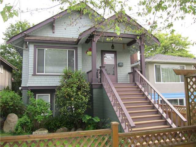 Main Photo: 978 E 30TH Avenue in Vancouver: Fraser VE House for sale (Vancouver East)  : MLS®# V1064972