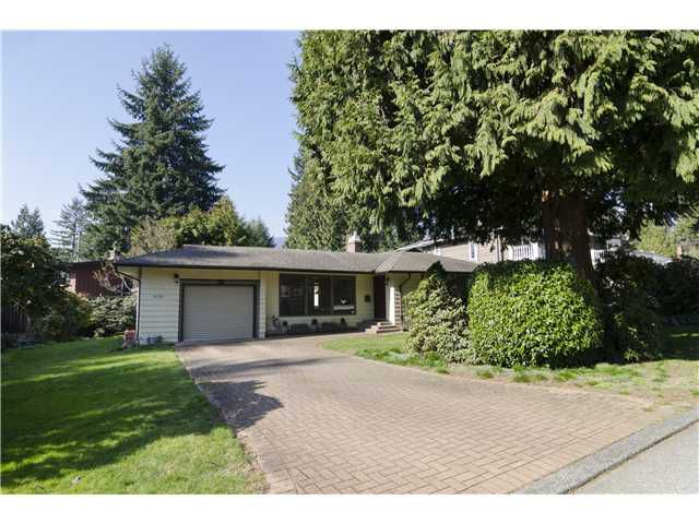 Main Photo: 4731 PHEASANT Place in North Vancouver: Canyon Heights NV House for sale : MLS®# V1109859