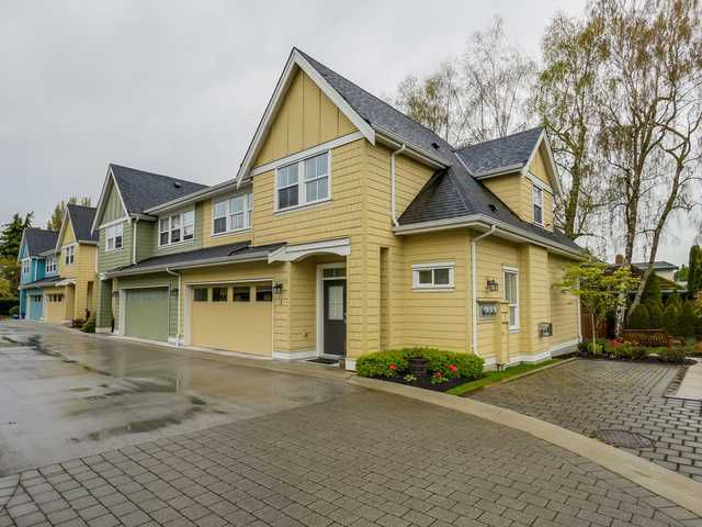 "Main Photo: 1 4887 CENTRAL Avenue in Ladner: Hawthorne Townhouse for sale in ""CENTRAL PARK WEST"" : MLS®# V1116348"