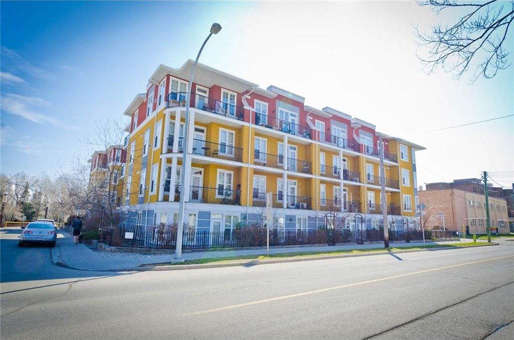 Main Photo: 209 208 HOLY CROSS Lane SW in Calgary: Mission Condo for sale : MLS®# C4113937