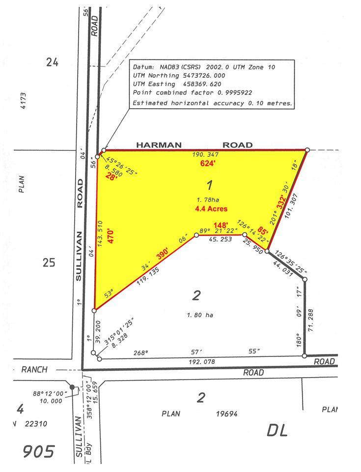 "Main Photo: LOT 1 HARMAN Road: Roberts Creek Home for sale in """"BIG SKY"""" (Sunshine Coast)  : MLS®# R2196952"