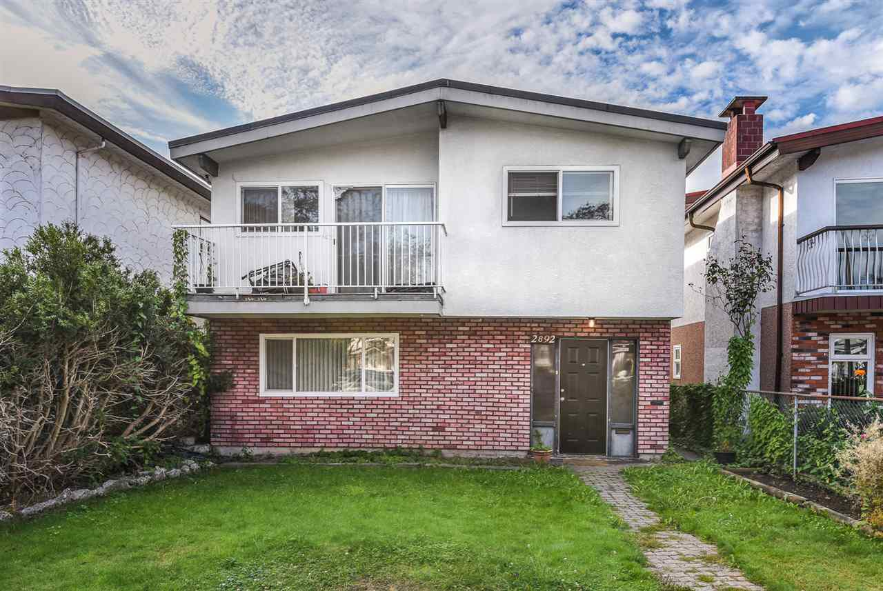Main Photo: 2892 E 14TH Avenue in Vancouver: Renfrew Heights House for sale (Vancouver East)  : MLS®# R2209163