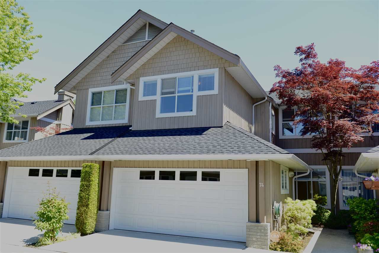 "Main Photo: 74 3555 WESTMINSTER Highway in Richmond: Terra Nova Townhouse for sale in ""SONOMA"" : MLS®# R2248206"